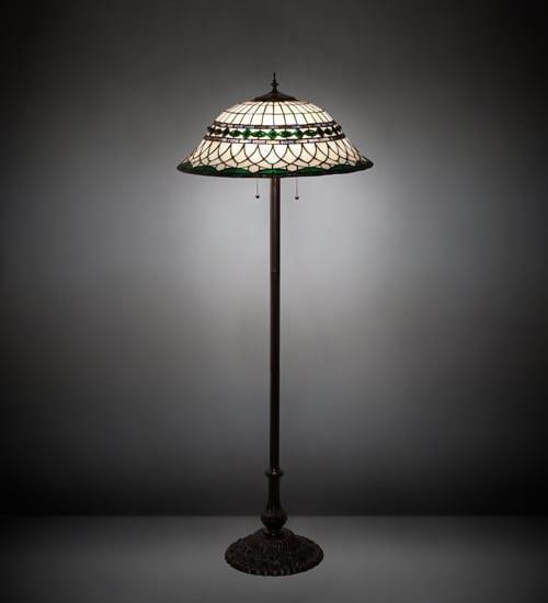 Tiffany Italian Style Floor Lamp Roman
