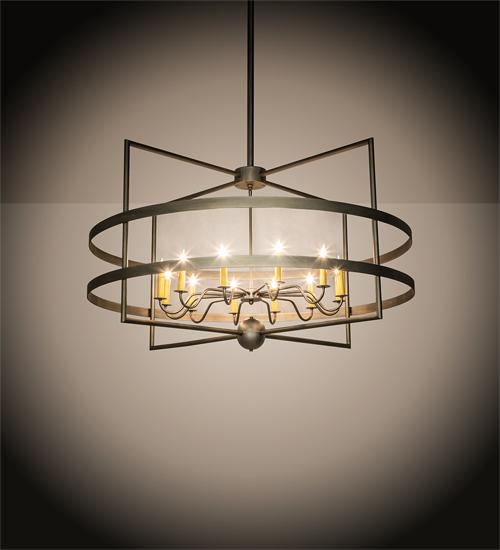 Aldari 12 Light Chandelier Commercial