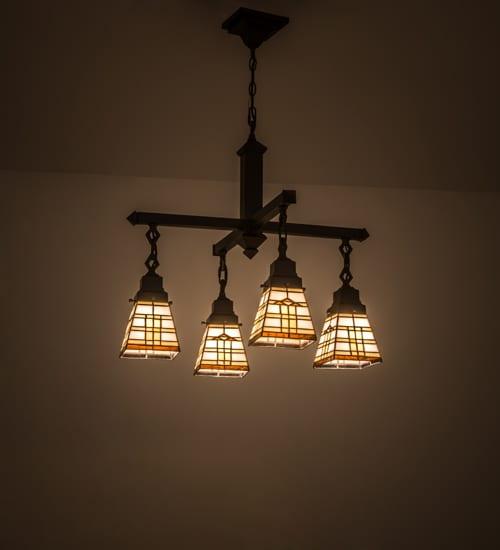 Mission Style Chandelier Lighting Decor