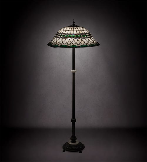Tiffany Style Floor Lamp 189107 Stained